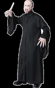 Mens Harry Potter Lord Voldemort Halloween Film Fancy Dress Costume