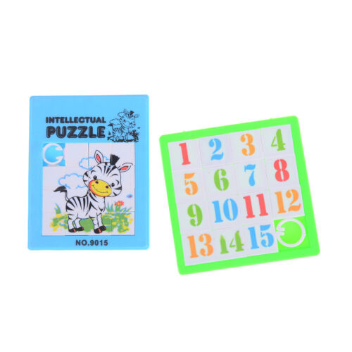 Cartoon Slide Puzzle Board  Toy For Kids Gift Filler Autism Toy  BSC