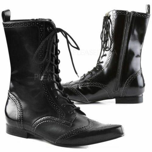 Demonia by Pleaser Men's Goth Boots Brogue-10