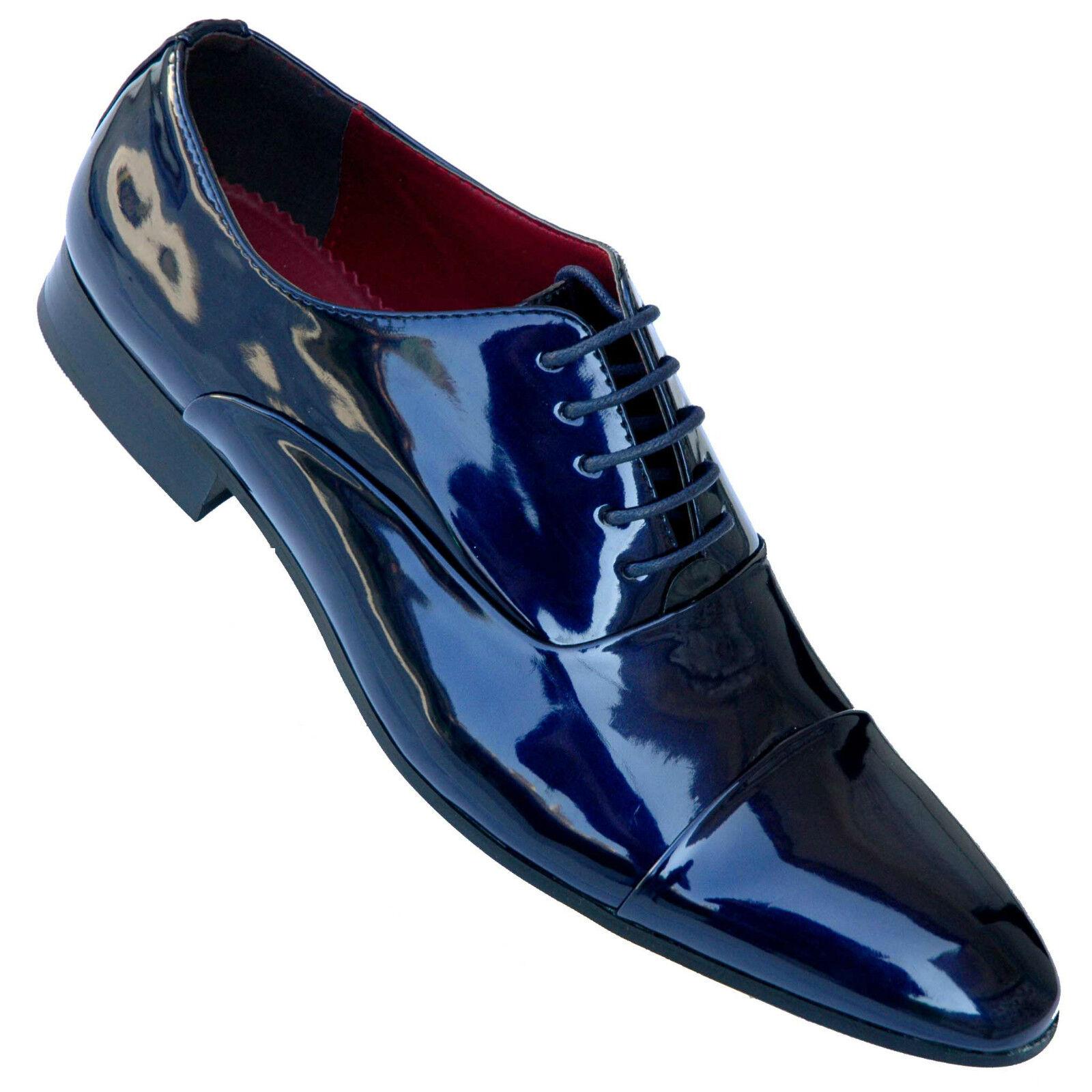 Scarpe Matrimonio Uomo Sportive : Scarpe uomo eleganti classiche per cerimonia blu o nere