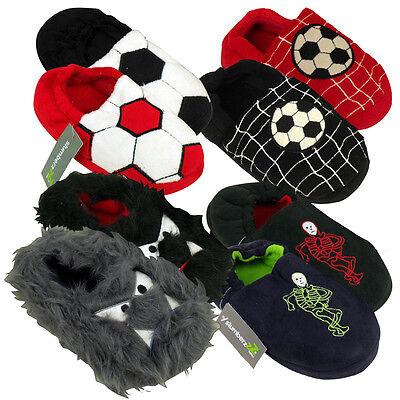 Nuevos Chicos Zapatillas De Fútbol Para Niños Niños Calidad Novedad Pantuflas Size UK 9-3
