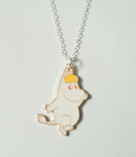 El Moomins Snork Maiden Moomin Chica Mujer Chicas Colgante Collar Regalo UK