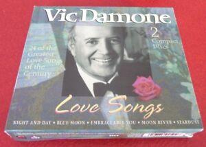 Double-CD-Album-Box-Set-Vic-Damone-Love-Songs-Madacy-Canada-Records