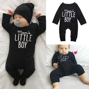 342c354e2 Top Baby Boy Kids Newborn Infant Romper Jumpsuit Bodysuit Cotton ...