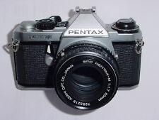 PENTAX ME SUPER 35mm FILM CAMERA WITH PENTAX-M 50mm F/1.7 SMC LENS.