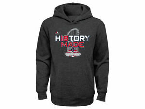 great fit 4496d 43290 Details about Boston Red Sox MLB Youth World Series Champions Locker Room  Hoodie History Made