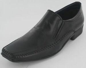 Mocassini-in-pelle-nera-da-uomo-scarpe-le054b