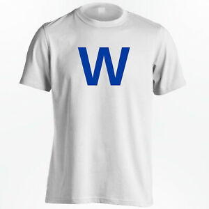 huge discount d88de 1df91 Details about Chicago Cubs T-Shirt - World Series Champs Cubs Win W - White  Shirt