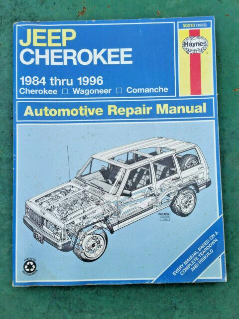 Haynes Repair Manual 1984