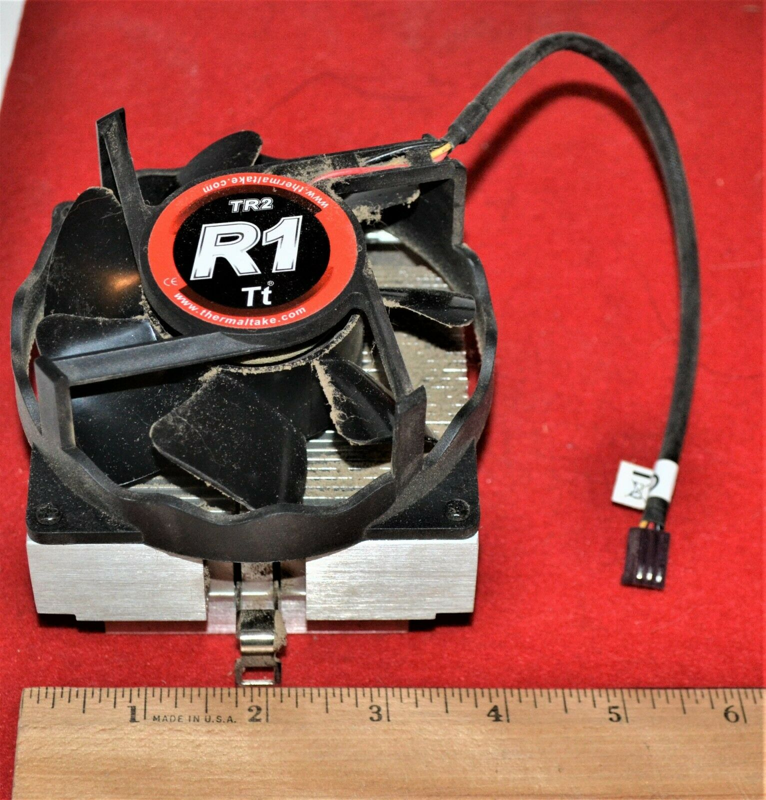 ThermalTake TR2-R1 CPU Heat Sink and Cooling Fan assembly