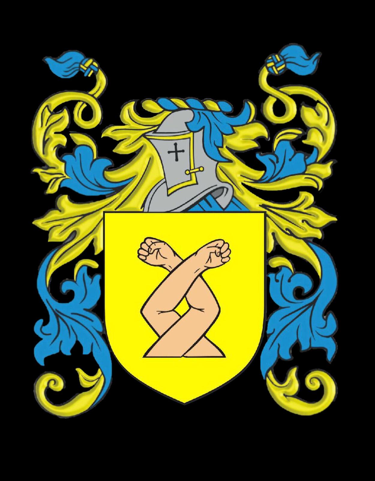 Dawes Inghilterra STEMMA DI FAMIGLIA cognome STEMMA Gemelli custodia custodia custodia personalizzata 88d094