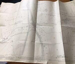 1927-Ordnance-Survey-Map-Plan-Tickton-Hull-Bridge-Beverley-Yorks-Social-History