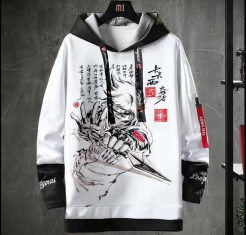 Naruto Cosplay Anime Kapuzen Sweatshirt Hoodie pullover Hooded Pulli Coat