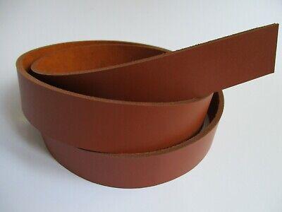 38mm. Genuine Natural Leather Belt Blank Strip Strap Band. 9-10 oz 51-55 , Brown 1 1//2