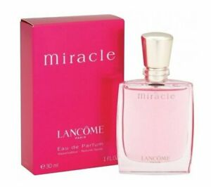 MIRACLE-by-Lancome-1-0-oz-EDP-eau-de-parfum-Spray-Womens-Perfume-30-ml-NEW-NIB