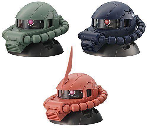 Nuovo Beai Mobile Suit Gundam Exceed modellolololo  Zaku Testa 3 Tipi Completamente  ci sono più marche di prodotti di alta qualità