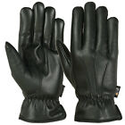 Mens Winter Gloves Warm Thermal Lining Genuine Leather Gents Dress Glove