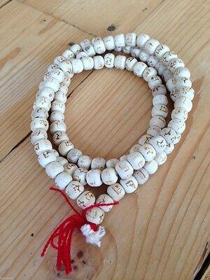 Hare Krishna Fairtrade, Mala Prayer Beads 108, Buddhist, meditation, Japa, Hindu
