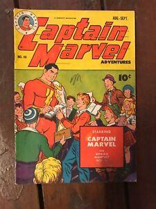 Captain-Marvel-Adventures-48-Fawcett-1945-C-C-Beck-Pete-Costanza-G-VG