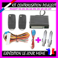 Kit Télécommande Centralisation pour PEUGEOT 106 206 306 406 806 205 405 605 309