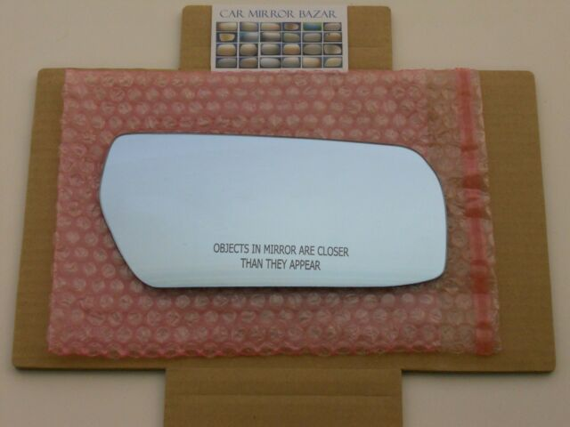 Brand New Door Mirror Glass Passenger Side W//Blind Spot For Cadillac CTS 2008-15