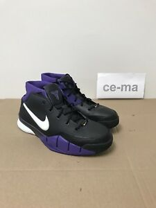 54ceced0143b Nike Zoom Kobe 1 Black Purple Gold Bryant Original 2006 Limited ...