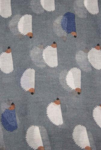 Finecy In Hedgehog Polka Dot Print Fashion Scarf Wrap Chiffon Soft Large Light