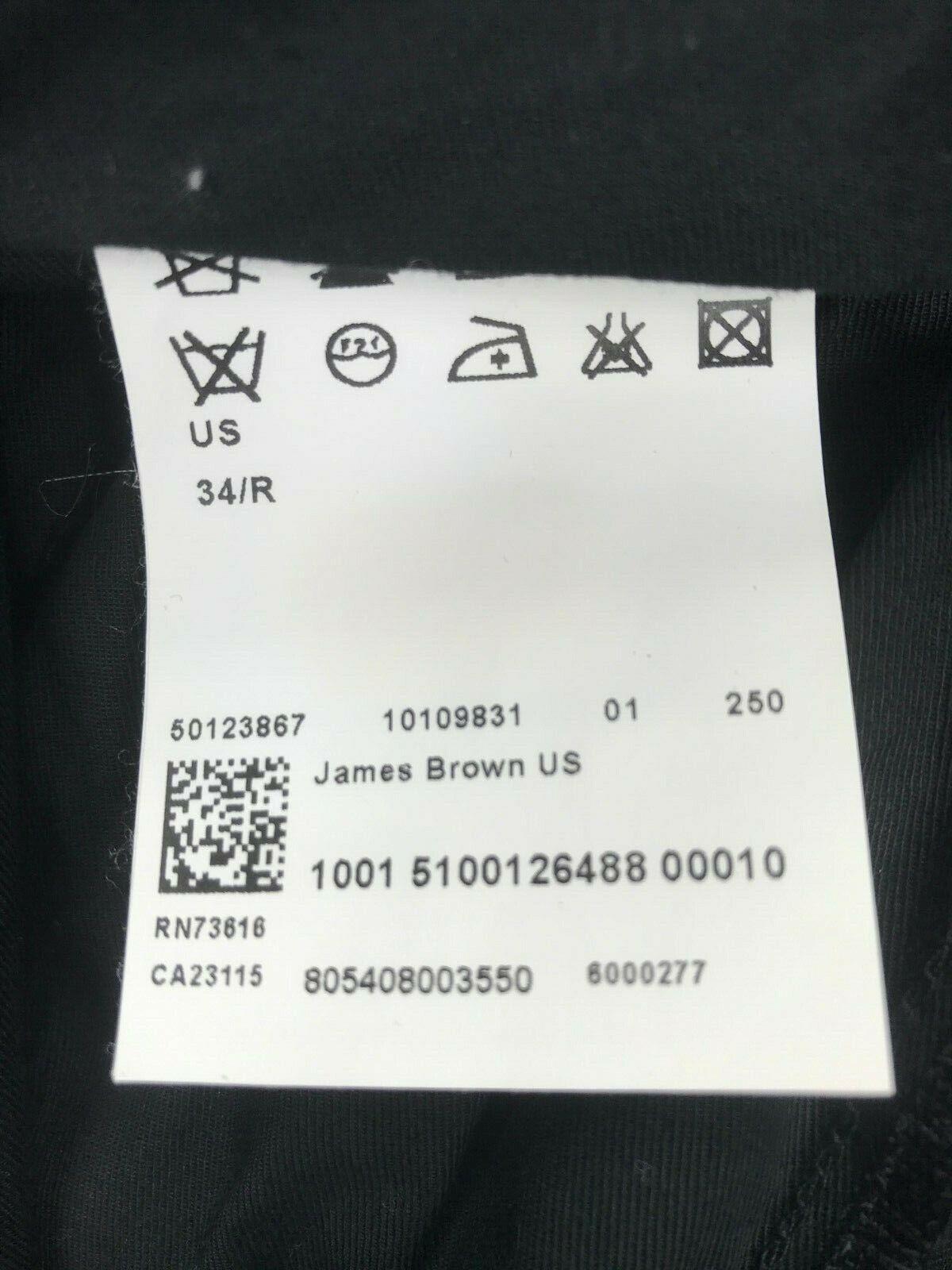 Mens Hugo Boss James Brown Dress PAnts SIZE 34R x… - image 6