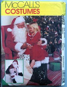 ce6b0b941 Santa Suit with Boots w Santa Doll - Medium - Pattern | eBay