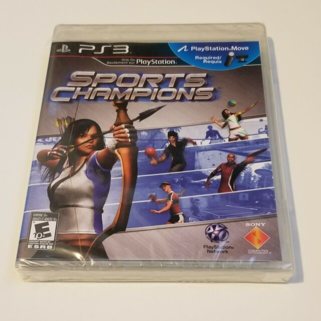 New Sports Champions Factory Sealed PS3 Sony PlayStation 3 2010