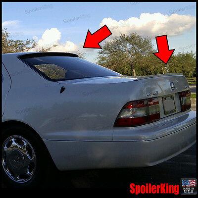 JDM M3 style trunk lip spoiler 1990-2000 FOR LEXUS LS400 CELSIOR XF10 XF20