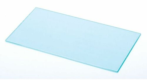 """CLEAR WELDING OUTER COVER LENS 2/"""" X 4-1//4/"""" POLYCARBONATE QTY 5"""