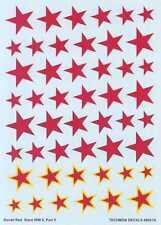 Techmod Decals 1/48 SOVIET RUSSIAN RED STARS WWII Part 2