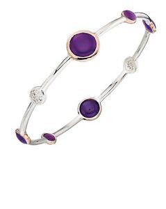 Createur-elements-argent-sterling-Violet-agate-et-pave-cz-bracelet