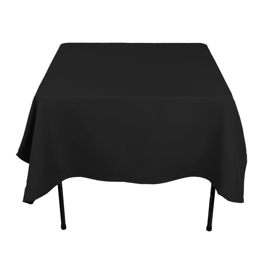 10 Square Tablecloths 72 x72  Made USA 100% Polyester Table Overlay 23 Farbes