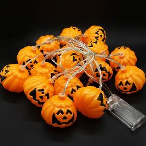 LED-Pumpkin-Halloween-String-Lights-Decoration-for-Halloween-Party-DIY-AU-New