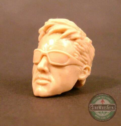"ML166 Custom Cast sculpt male head use with 6/"" Marvel Legends Star Wars Figures"