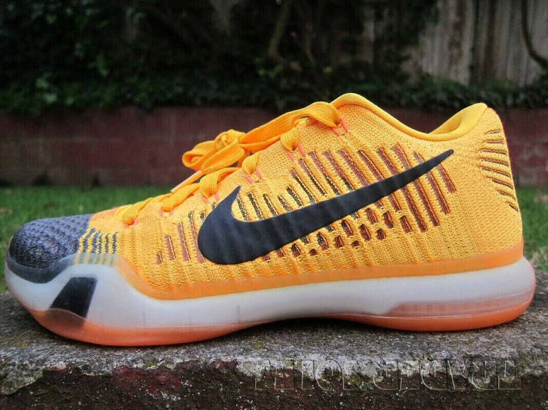 NIKE ZOOM AIR KOBE X RIVALRY CHEETOS sz 8 flyknit presto ad predro retro