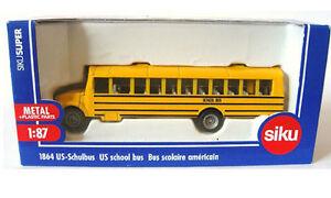SIKU-1-87-MODELLO-DIE-CAST-SCUOLABUS-AMERICANO-US-SCHOOL-BUS-ART-1864