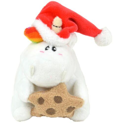 """ca Pummeleinhorn X-Mas Plüsch /""""Weihnachts-Pummel/"""" 10 cm NEU//OVP"""
