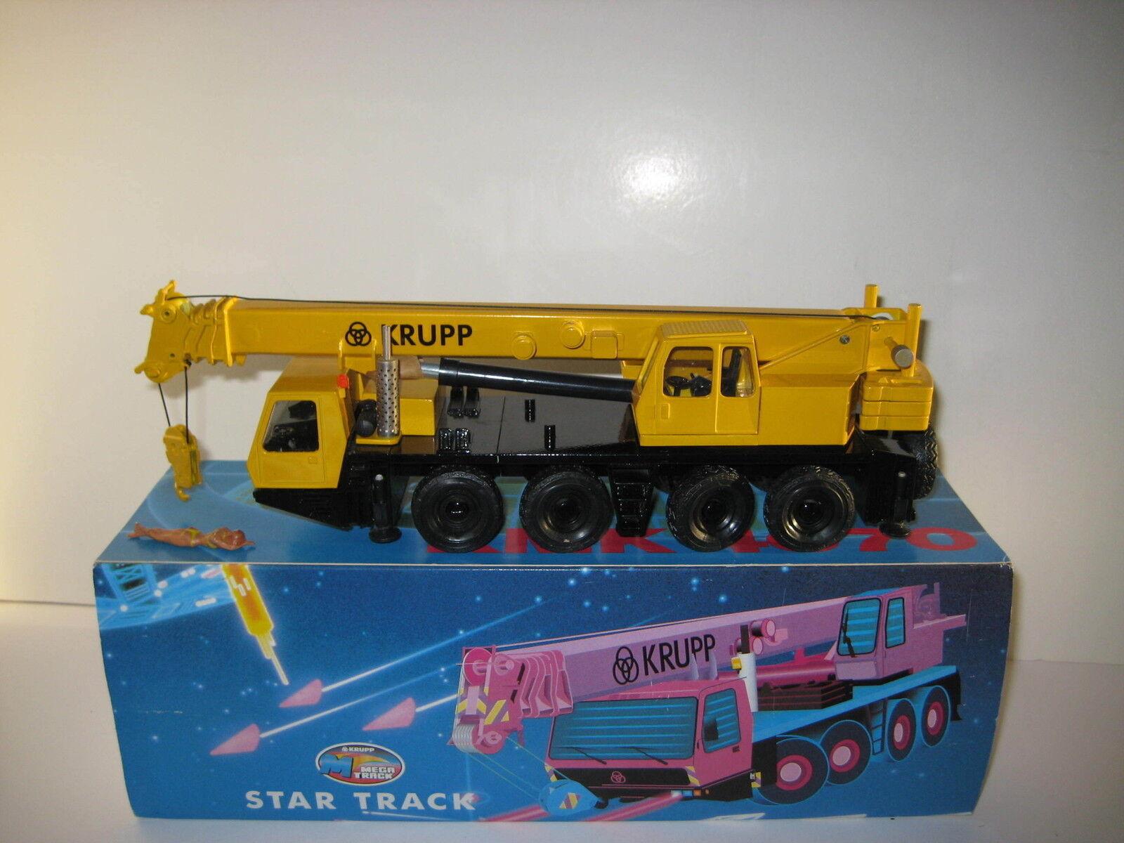 Krupp Kmk 4070 Car Crane Yellow Auto Russia 1 50 Boxed