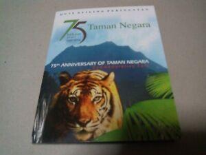 Coin card rm1 nordic 75th Anniversary of Taman Negara 2014 commemorative unc