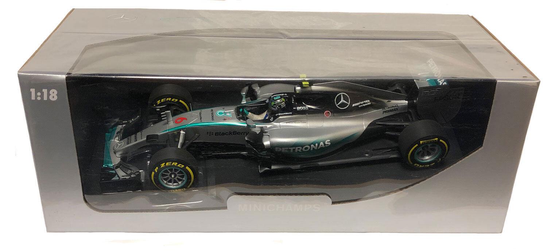Minichamps MERCEDES AMG F1 W06  6 USA GP 2015-Nico Rosberg 1 18 SCALA