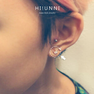 Details About 16g Crown Tiara Cartilage Earring Helix Conch Tragus Earring Labret Studs 1pc