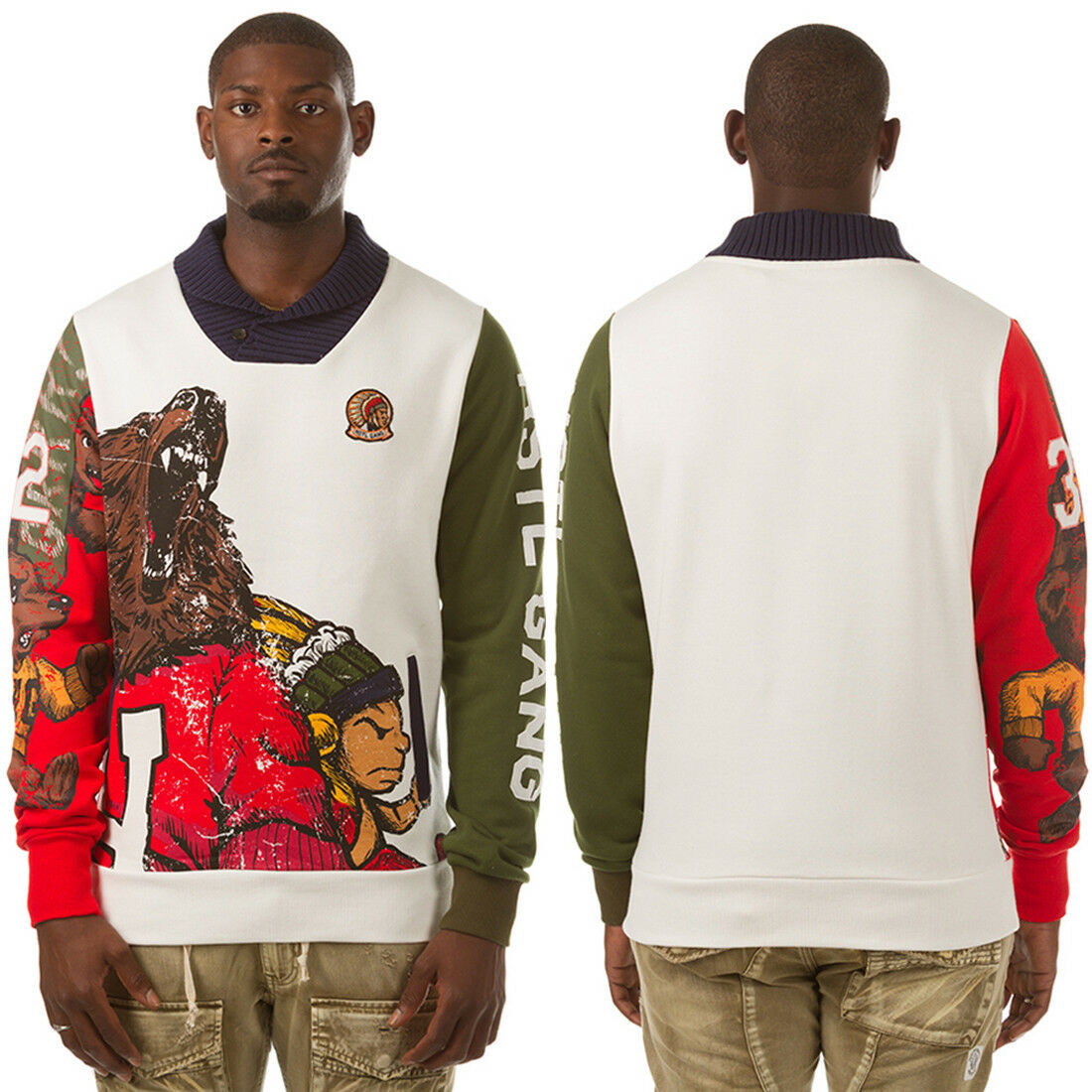 NEW HUSTLE GANG THE NATIVE COCONUT MILK 271-8305 Sweaters