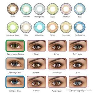 vibrant color contacts eye lenses colorblends cosmetic makeup lens