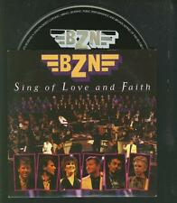 BZN Sing Of Love And Faith 2 tr  LIVE CARDslv CD SINGLE