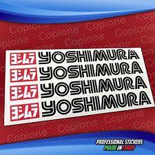4 Adesivi Sticker YOSHIMURA 20 x 3 cm black