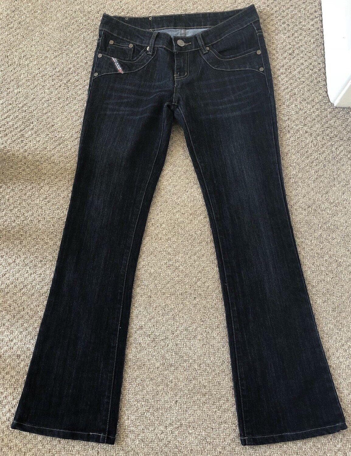 Diesel Industry Dark bluee Denim Low Rise Jeans Size 9   Approx