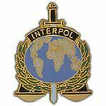 INTERPOL-HAT-PIN